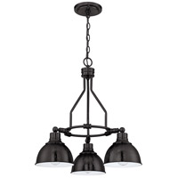 Timarron 3 Light 23 inch Aged Bronze Chandelier Ceiling Light