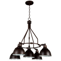 Jeremiah by Craftmade Timarron 5 Light Chandelier in Aged Bronze 35925-ABZ