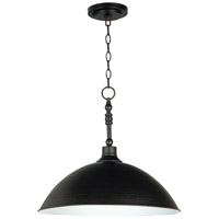 Jeremiah by Craftmade Timarron 1 Light Pendant in Aged Bronze 35993-ABZ