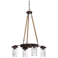 Craftmade 36124-ABZ Thornton 4 Light 32 inch Aged Bronze Brushed Up/Down Chandelier Ceiling Light alternative photo thumbnail