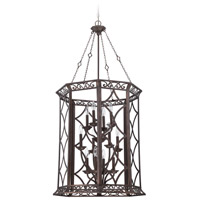 Jeremiah by Craftmade Evangeline 12 Light Foyer in Peruvian Bronze 36432-PR