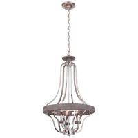 Craftmade 36543-PLNGRW Ashwood 3 Light 20 inch Polished Nickel and Greywood Pendant Ceiling Light alternative photo thumbnail