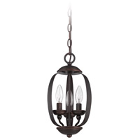 Jeremiah by Craftmade Ensley 3 Light Pendant in Aged Bronze Brushed 37093-ABZ
