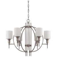Craftmade 37226-AN Meridian 6 Light 28 inch Antique Nickel Chandelier Ceiling Light