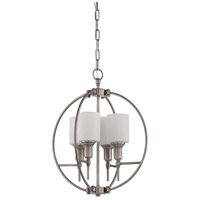 Jeremiah by Craftmade Meridian 4 Light Foyer in Antique Nickel 37234-AN