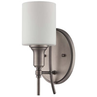 Meridian 1 Light 6 inch Antique Nickel Wall Sconce Wall Light