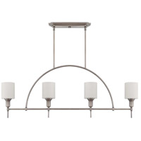 Meridian 4 Light 45 inch Antique Nickel Island Light Ceiling Light