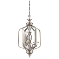Laurent 3 Light 13 inch Polished Nickel Foyer Ceiling Light