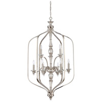 Laurent 9 Light 30 inch Polished Nickel Foyer Ceiling Light