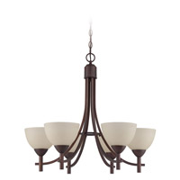 Jeremiah by Craftmade Hartford 6 Light Chandelier in Old Bronze 37626-OB
