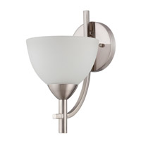 Jeremiah by Craftmade Hartford 1 Light Wall Sconce in Satin Nickel 37661-SN