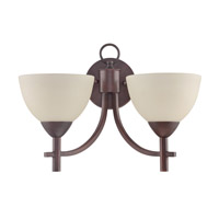 Jeremiah by Craftmade Hartford 2 Light Wall Sconce in Old Bronze 37662-OB