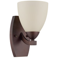 Craftmade 37761-OLB Almeda 1 Light 6 inch Old Bronze Wall Sconce Wall Light in Creamy Frosted Glass