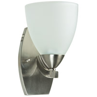 Craftmade 37761-SN Almeda 1 Light 6 inch Satin Nickel Wall Sconce Wall Light in Frost White