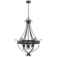 Jeremiah by Craftmade Ellsworth 3 Light Pendant in Charcoal 37943-CHL