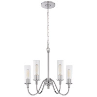 Craftmade 38024-CH Modina 4 Light 21 inch Chrome Chandelier Ceiling Light