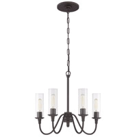 Craftmade 38024-ESP Modina 4 Light 21 inch Espresso Chandelier Ceiling Light