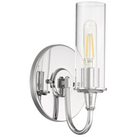 Modina 1 Light 7 inch Chrome Wall Sconce Wall Light