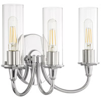 Modina 3 Light 16 inch Chrome Vanity Light Wall Light
