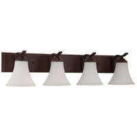 Jeremiah by Craftmade Arabella 4 Light Vanity in Old Bronze 38204-OB
