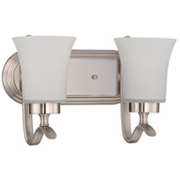 Craftmade 38302-SN Northlake 2 Light 14 inch Satin Nickel Vanity Light Wall Light
