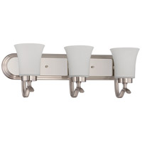 Craftmade 38303-SN Northlake 3 Light 24 inch Satin Nickel Vanity Light Wall Light