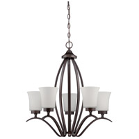 Craftmade 38325-ABZ Northlake 5 Light 24 inch Aged Bronze Brushed Chandelier Ceiling Light