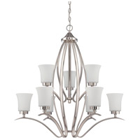 Craftmade 38329-SN Northlake 9 Light 32 inch Satin Nickel Chandelier Ceiling Light