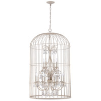 Ivybridge 12 Light 28 inch French White Chandelier Ceiling Light