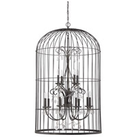 Jeremiah by Craftmade Ivybridge 12 Light Chandelier in Valencian Iron 38412-VI
