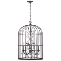 Jeremiah by Craftmade Ivybridge 3 Light Chandelier in Valencian Iron 38423-VI