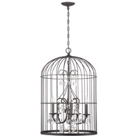 Jeremiah by Craftmade Ivybridge 5 Light Chandelier in Valencian Iron 38425-VI
