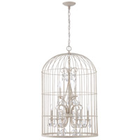 Jeremiah by Craftmade Ivybridge 9 Light Chandelier in French White 38429-FW