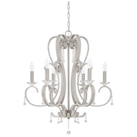 Andrianna 6 Light 25 inch Brushed Nickel Chandelier Ceiling Light