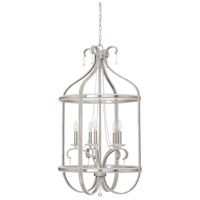 Andrianna 5 Light 22 inch Brushed Nickel Foyer Chandelier Ceiling Light