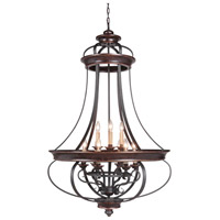 Craftmade 38739-AGTB Stafford 9 Light 31 inch Aged Bronze and Textured Black Foyer Light Ceiling Light alternative photo thumbnail