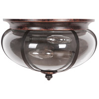 Stafford 2 Light 12 inch Aged Bronze and Textured Black Wall Sconce Wall Light in Clear Glass