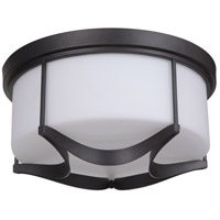 Craftmade 39083-ESP Sydney 3 Light 16 inch Espresso Flush Mount Ceiling Light