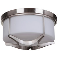 Craftmade 39083-SN Sydney 3 Light 16 inch Satin Nickel Flush Mount Ceiling Light