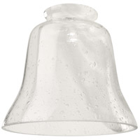 Craftmade 391 Signature Clear Seeded Fan Glass, Bell