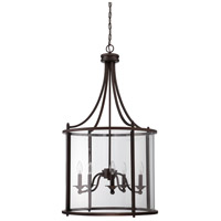 Craftmade 39535-ABZ Carlton 5 Light 22 inch Aged Bronze Pendant Ceiling Light