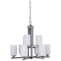Craftmade 39729-CH Albany 9 Light 28 inch Chrome Chandelier Ceiling Light