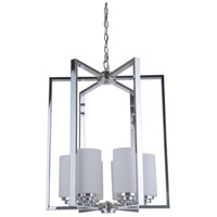 Albany 6 Light 20 inch Chrome Foyer Light Ceiling Light