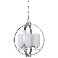 Albany 4 Light 18 inch Chrome Foyer Light Ceiling Light