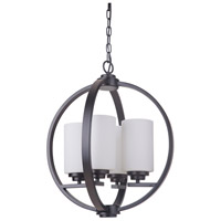 Albany 4 Light 18 inch Oiled Bronze Foyer Light Ceiling Light
