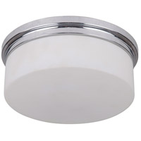 Albany 2 Light 10 inch Chrome Flushmount Ceiling Light