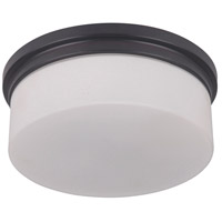 Albany 2 Light 10 inch Oiled Bronze Flush Mount Ceiling Light