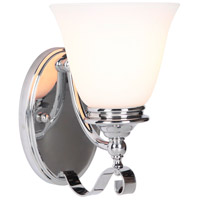Chelsea 1 Light 6 inch Chrome Wall Sconce Wall Light, Jeremiah