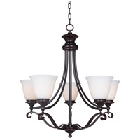 Chelsea 5 Light 30 inch Oil Bronze Gilded Chandelier Ceiling Light in Oiled Bronze Gilded, Jeremiah