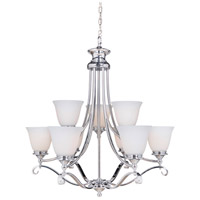 Chelsea 9 Light 30 inch Chrome Chandelier Ceiling Light, Jeremiah